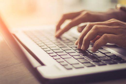 Werken met de laptop