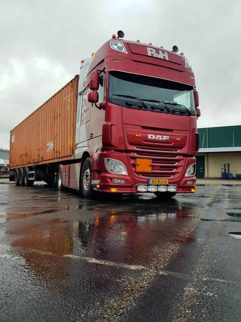Zeecontainer-vervoeren